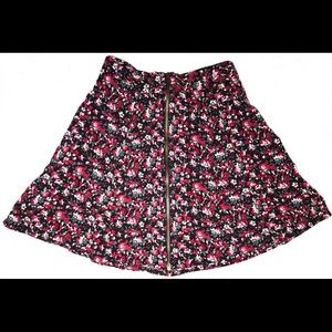 Floral Pins And Needles Skirt